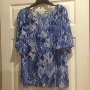 Top, Susan Graver size L in her signature knit $25